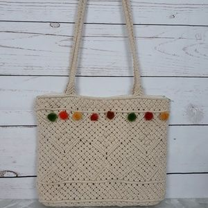 French Laundry Crochet Bag